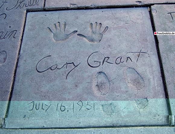 Los Angeles - Cary Grant Andrücke